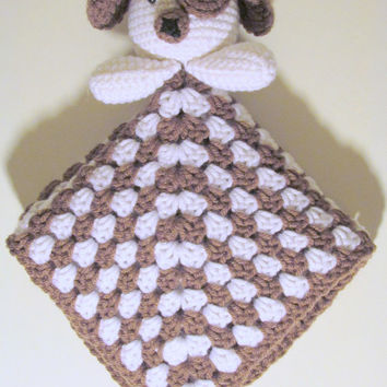 Puppy Lovey PDF Crochet Pattern - INSTANT DOWNLOAD