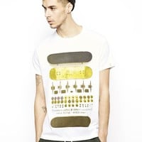 Supremebeing T-Shirt With Deconstructed Skate