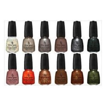 China Glaze Hunger Games 2012 New Nail Polish Lacquer Collection