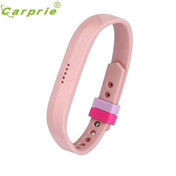 10 Colours Secure Holder Silicone Bands Fasteners Clasp for Fitbit Flex 2 Wristbands Nov21
