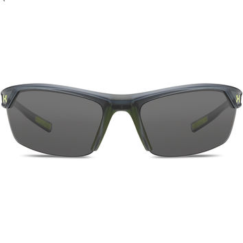 Under Armour Zone 2.0 Sunglasses Satin Crystal/Gray
