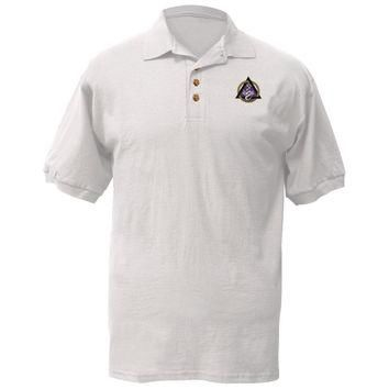 Dentistry Caduceus Symbol Polo T-Shirt