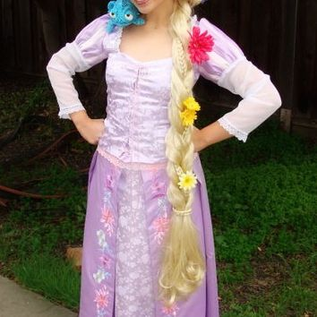 Rapunzel Tangled Adult Custom Costume A in your Size