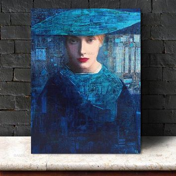 Picture canvas painting home deor Wall art abstract  figure Wall Picture print on canvas for living room Art Decoration No Frame