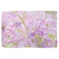Lilac Flowers Mist Kitchen Towel
