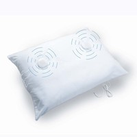 Sound Oasis Sleep Therapy Pillow w/ Speakers at Brookstone—Buy Now!