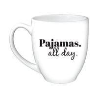 Pajamas All Day Mug