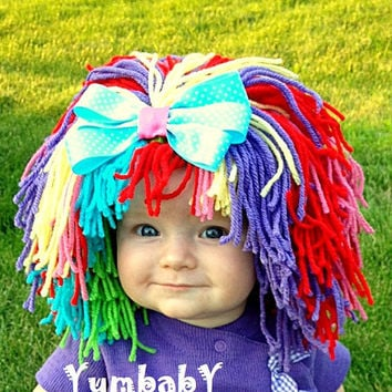Clown Costume Baby Hat Clown Wig Baby Hats Colorful Wig Toddler  sc 1 st  wanelo.co & Best Clown Costume Kids Products on Wanelo