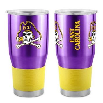 East Carolina Pirates 30 oz. Stainless Steel Insulated Ultra Travel Tumbler
