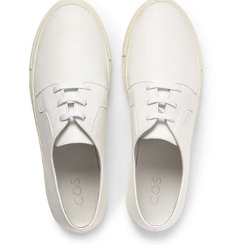COS - Leather Sneakers | MR PORTER