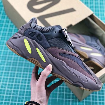 Kanye West X Adidas Yeezy Runner Boost 700 Mauve Sport Running Shoes - Best Online Sale