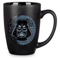Disney Parks Star Wars Darth Vader #1 Dad Ceramic Coffee Mug New