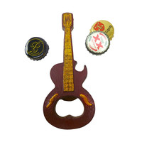 Rock N Roll Guitar Bottle Opener