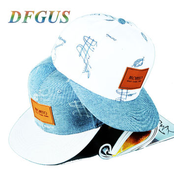 DFGUS baseball cap snapback hats for men casquette gorras bone hip hop women's summer leisure cap