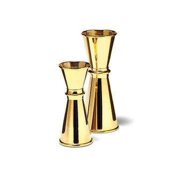 24K Gold-Plated Cocktail Jigger