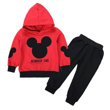 Mickey Mouse Number One Clothing Set