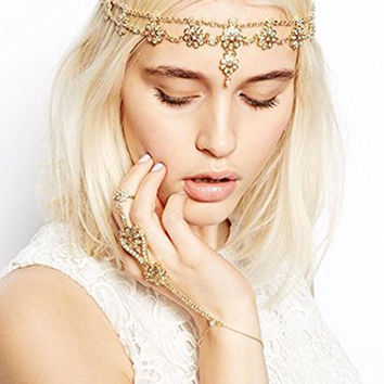 Antique Game of Throne Inspired Head Band Head Chain - FREE SHIPPING