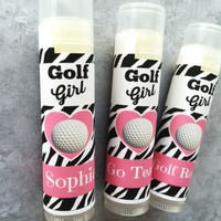 Golf Lip Balm | Golf Team Favors | Free Customization