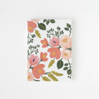 Rose Botanicals Journal by RIFLE PAPER Co. | Made in USA
