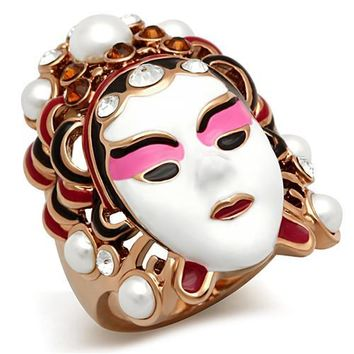Exotic Face Mask Ring