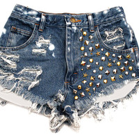 Mixed Metal Shorts from ShopWunderlust