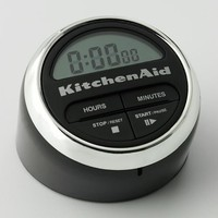 KitchenAid Cook's Series Digital Timer, Black