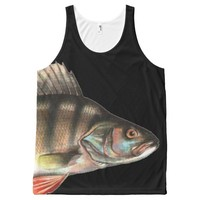 FISH HEAD All-Over-Print TANK TOP