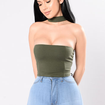 Justify My Sass Top - Olive