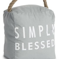 Simply Blessed Door Stopper