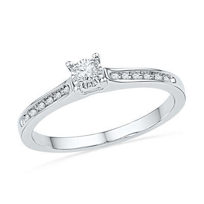1 10 ct t w promise ring in 10k from zales