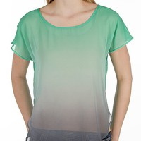 Daytrip Pieced Ombre Top - Women's Shirts/Tops | Buckle