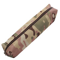 Casual Camouflage Pen Bag Pencil Case Pouch Stationery Cosmetic Makeup Bag