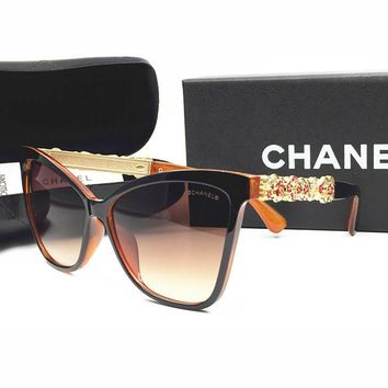 CHANEL Women Fashion Popular Shades Eyeglasses Glasses Sunglasses