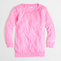 Factory textured Charley sweater in neon - Sweaters - FactoryWomen's New Arrivals - J.Crew Factory