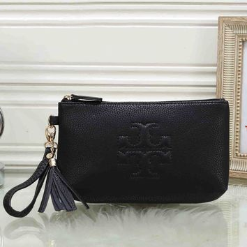 *Tory Burch* Women Fashion Zipper Wallet Purse