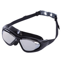 Men Women Silicone headstrap Anti Fog UV Protection Swimming Goggles Electroplate Waterproof Swim Glasses = 1841597508