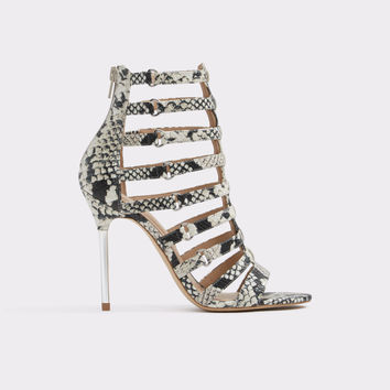 Unaclya Natural Print Women's Open-toe heels | Aldoshoes.com US