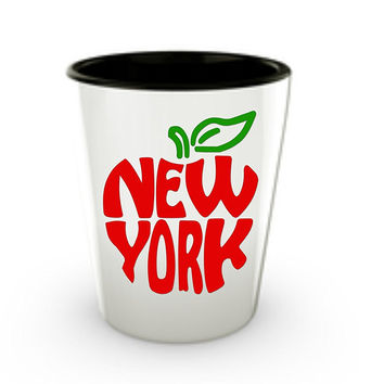 New York Shot Glass Set - I Love New York City Souvenir Big Apple Gifts