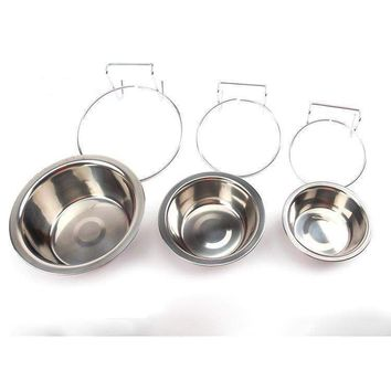 Vokmascot cat Dog Bowls Stainless Steel Food Container Drinking Bowl cat supplies