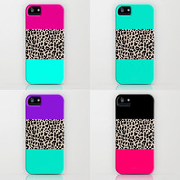 Leopard National Flag Cases - FREE SHIPPING - SOLD SEPARATELY - iPhone 3G, 3GS, 4, 4S, 5/iPod Touch 5/Galaxy S4