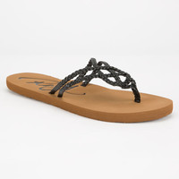Roxy Cancun Womens Sandals Black  In Sizes