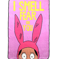 Bob's Burgers Louise Throw