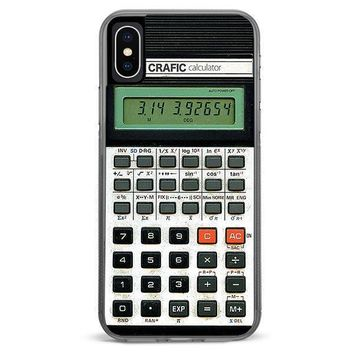 Retro Calculator iPhone XR case