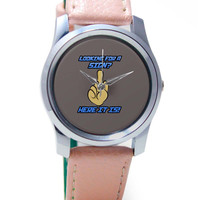 Looking For A Sign | Middle Finger Wrist Watch