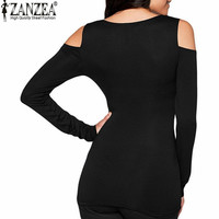 Zanzea T Shirt Women 2016 Sexy Bodycon Of