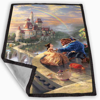 Thomas Kinkade s Disney Paintings Blanket for Kids Blanket, Fleece Blanket Cute and Awesome Blanket for your bedding, Blanket fleece **