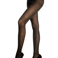 New Sexy Womens Black Red Ribbed Pantyhose Tights Nylon Stockings