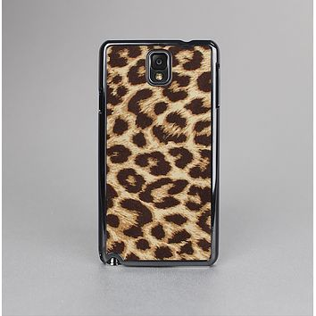 The Simple Vector Cheetah Print Skin-Sert Case for the Samsung Galaxy Note 3