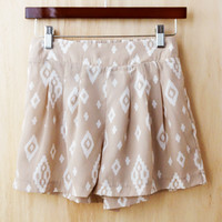Sandy Beaches Ikat Shorts