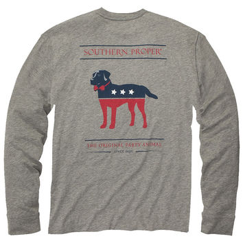 Southern Proper - Party Animal  L/S